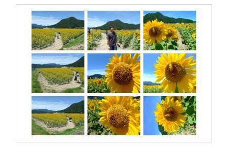 フォルダー内の写真を一覧印刷する方法。サムネイル印刷